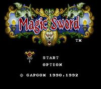 Magic Sword, capture décran
